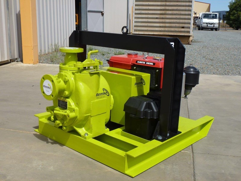 remko rt-050 compact dewatering pump package 408305 015