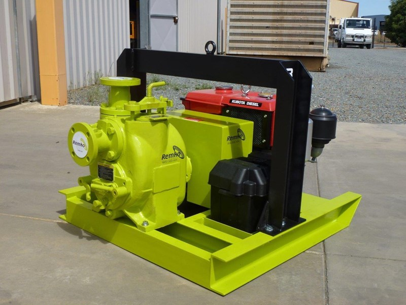 remko rt-050 compact dewatering pump package 408305 017