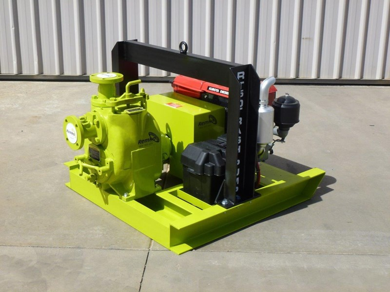 remko rt-050 compact dewatering pump package 408305 019