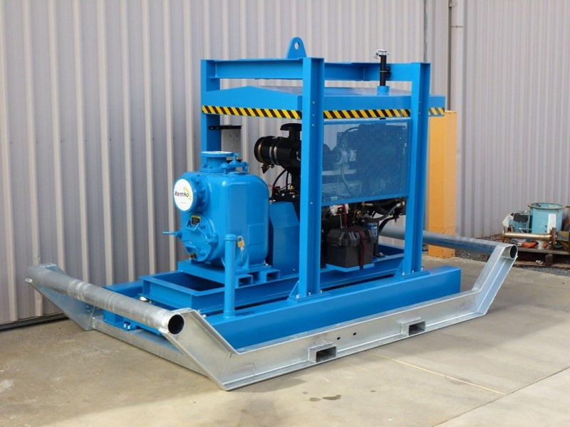 remko rth-100 major contractors diesel pump package 408318 027