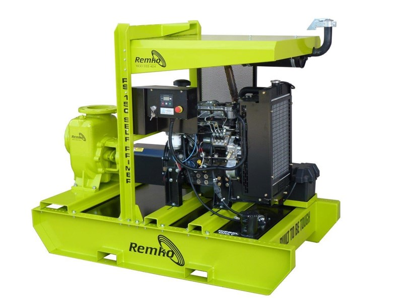 "remko rs-150 6"" self priming contractors pump package 408334 001"