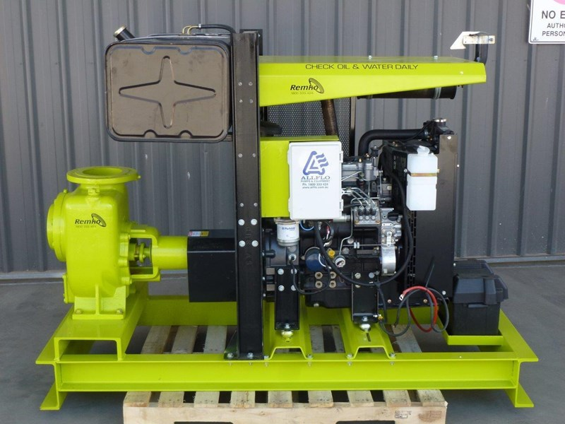 "remko remko rs-150 (6"") self-priming diesel driven pump package 408340 007"