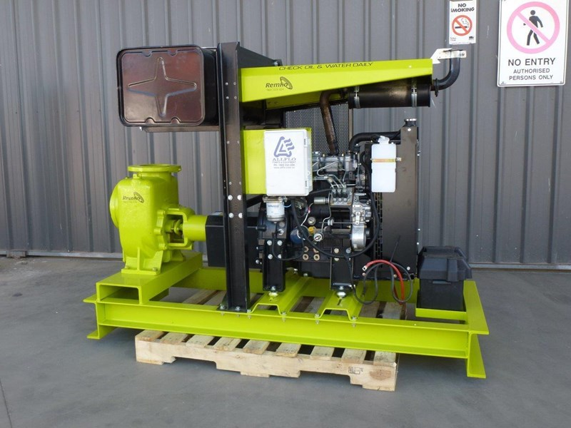"remko remko rs-150 (6"") self-priming diesel driven pump package 408340 023"