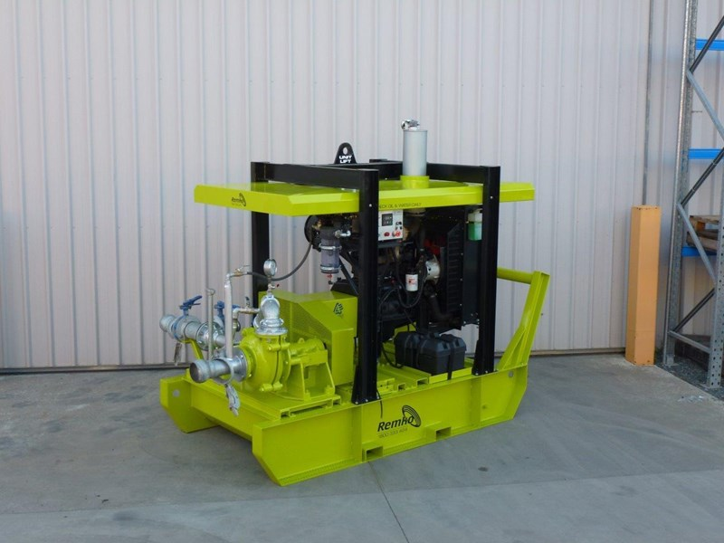 remko heavy duty diesel driven sand/sludge/slurry pump package 408395 013
