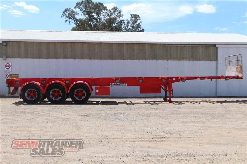 krueger 40ft skel semi trailer 408921 001