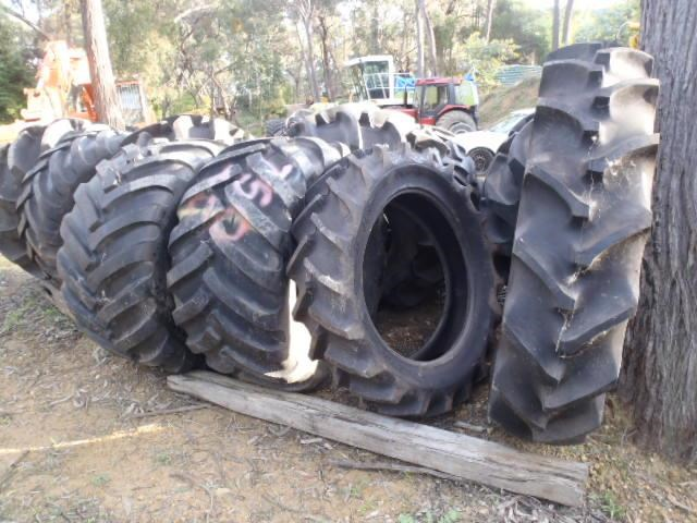 various forestry agricultural tyres incl goodyear olympic gripster 409142 005