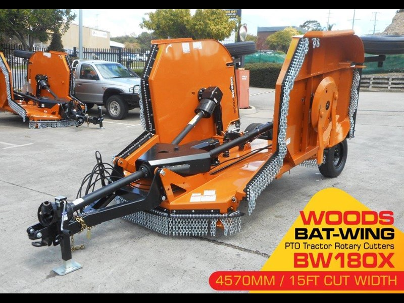 woods equipment pto tractor rotary cutters [cut width 4571mm / 15ft ] woods bw180x  [attpto] 331912 004