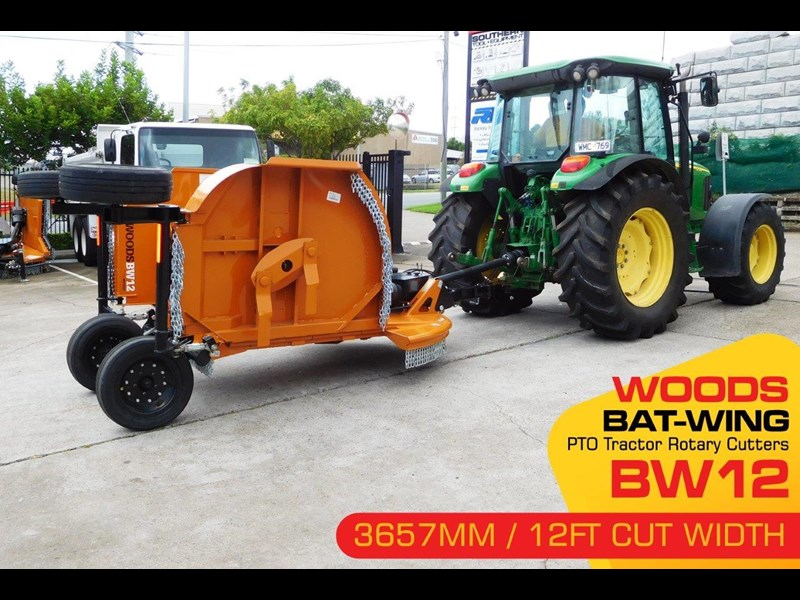 woods equipment bw12 woods pto tractor 12ft / 3657mm rotary cutters [attpto] 334426 003