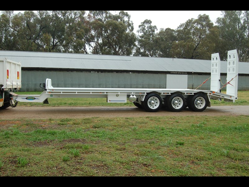 northstar transport equipment tri axle tag trailer 409706 001