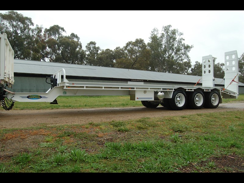 northstar transport equipment tri axle tag trailer 409706 003