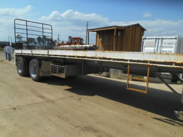 fruehauf semi flat top trailer 344459 005