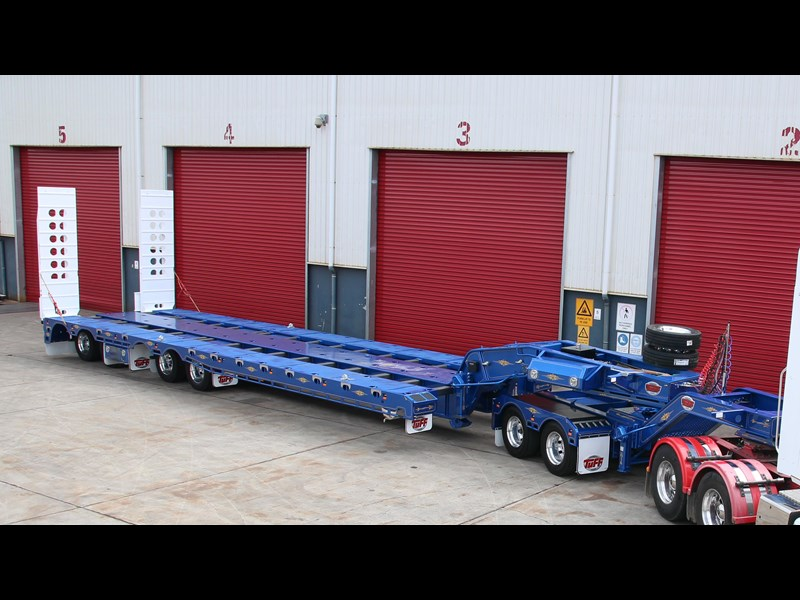 tuff trailers 4x4 low loader / deck widening 398471 003