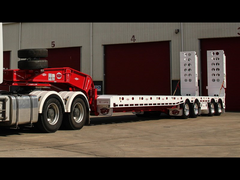 tuff trailers 4x4 low loader / deck widening 398471 005
