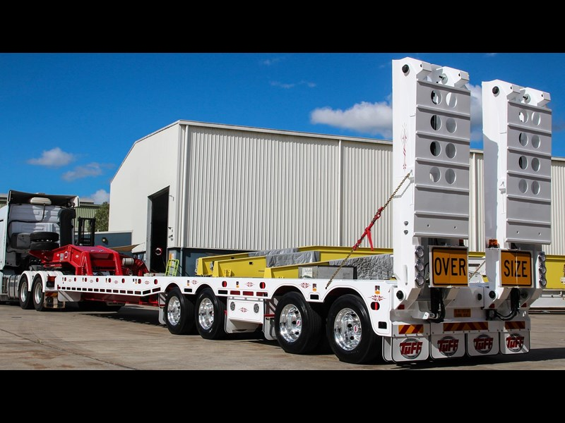 tuff trailers 4x4 low loader / deck widening 398471 007
