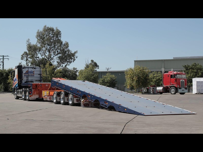 tuff trailers 3x4 or 4x4 drop deck / fixed width or deck widening / tilt 'n' slide - super tilt 398286 021