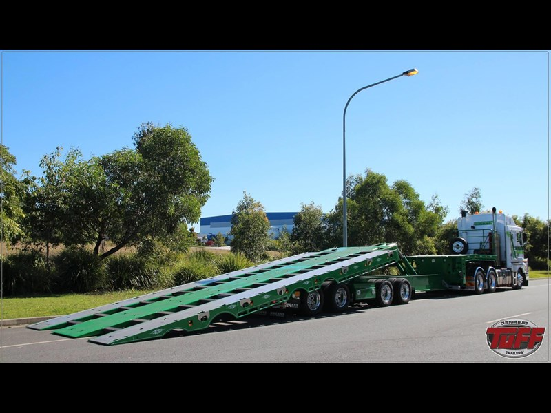 tuff trailers 3x4 or 4x4 drop deck / fixed width or deck widening / tilt 'n' slide - super tilt 398286 031
