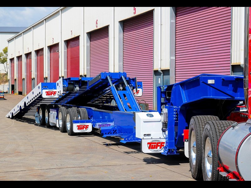 tuff trailers 3x4 or 4x4 drop deck / fixed width or deck widening / tilt 'n' slide - super tilt 398286 035