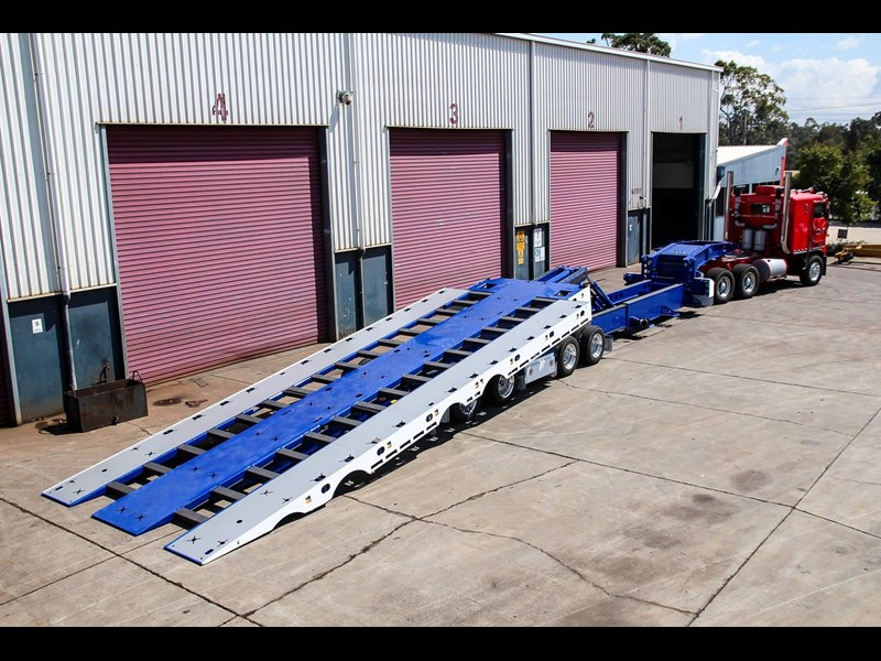 tuff trailers 3x4 or 4x4 drop deck / fixed width or deck widening / tilt 'n' slide - super tilt 398286 003