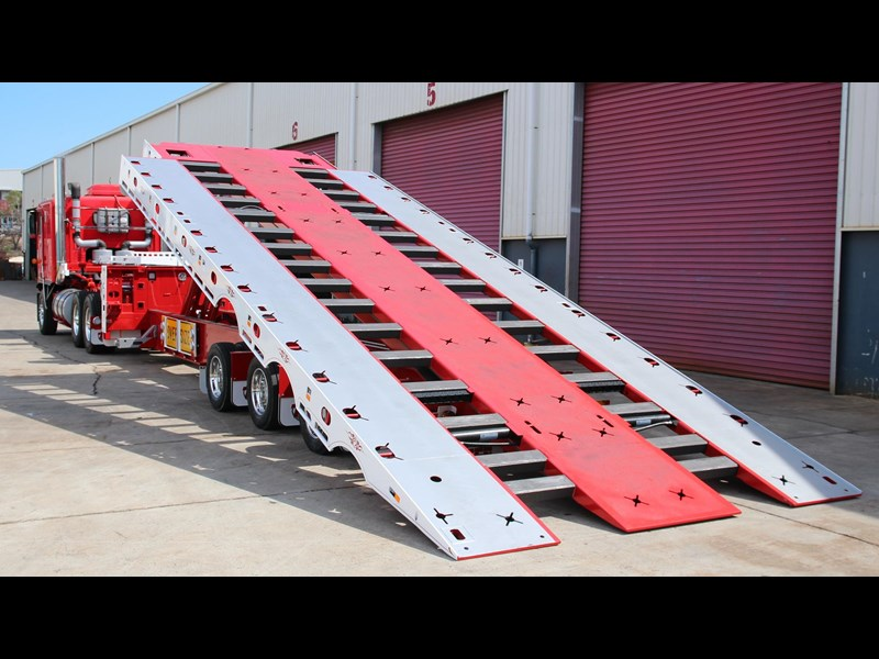 tuff trailers 3x4 or 4x4 drop deck / fixed width or deck widening / tilt 'n' slide - super tilt 398286 001