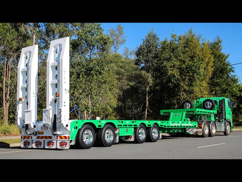 tuff trailers 4x4 low loader / deck widening 410179 013
