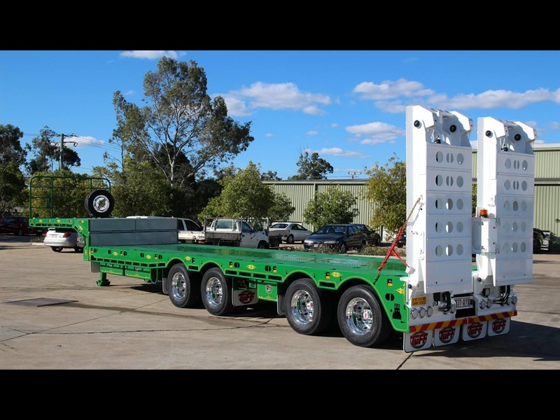 tuff trailers 4x4 low loader / deck widening 410179 001