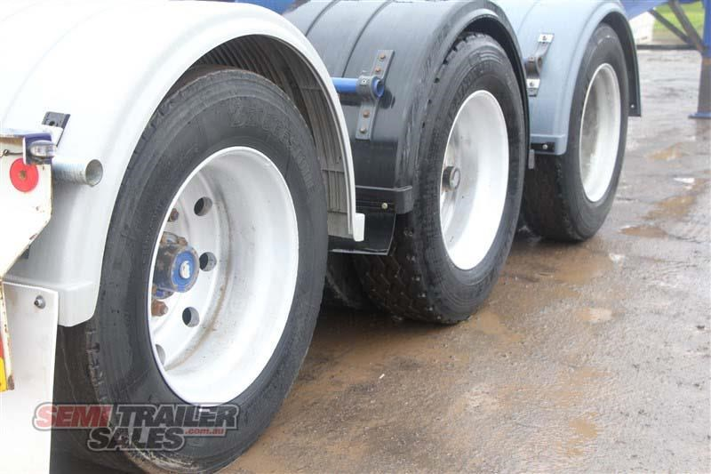 barker 20ft skel semi a trailer with 2 way pins 411545 006