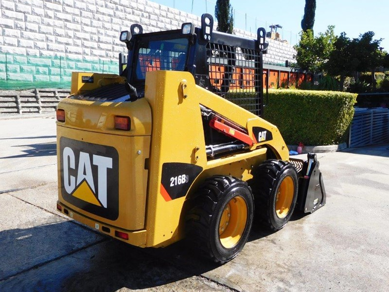 caterpillar #2229 216b.3 cat 216.b3 skid steer loader [47 hp][demo machine with only 172.6 hours] [machcat] 413736 007