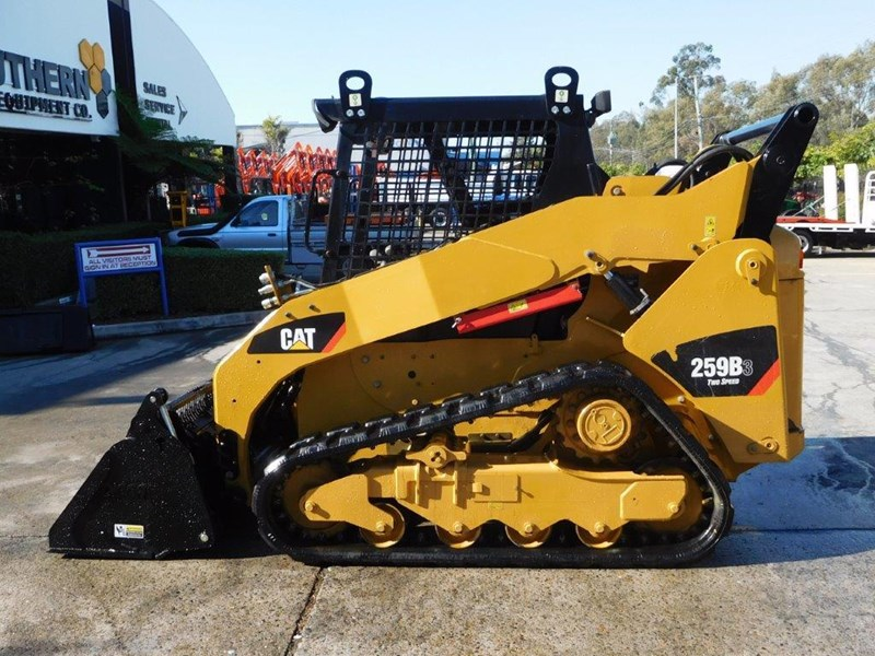 caterpillar #2235b 259.b3 cat 259b.3 compact track loader [74 hp] [only 295 hours] [machcat] 414016 004