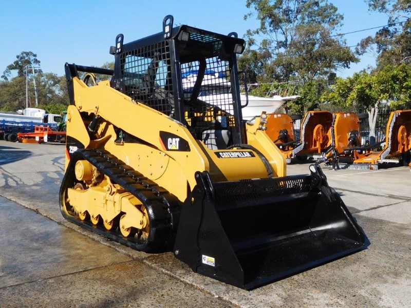 caterpillar #2235b 259.b3 cat 259b.3 compact track loader [74 hp] [only 295 hours] [machcat] 414016 005