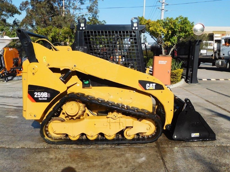 caterpillar #2235b 259.b3 cat 259b.3 compact track loader [74 hp] [only 295 hours] [machcat] 414016 006