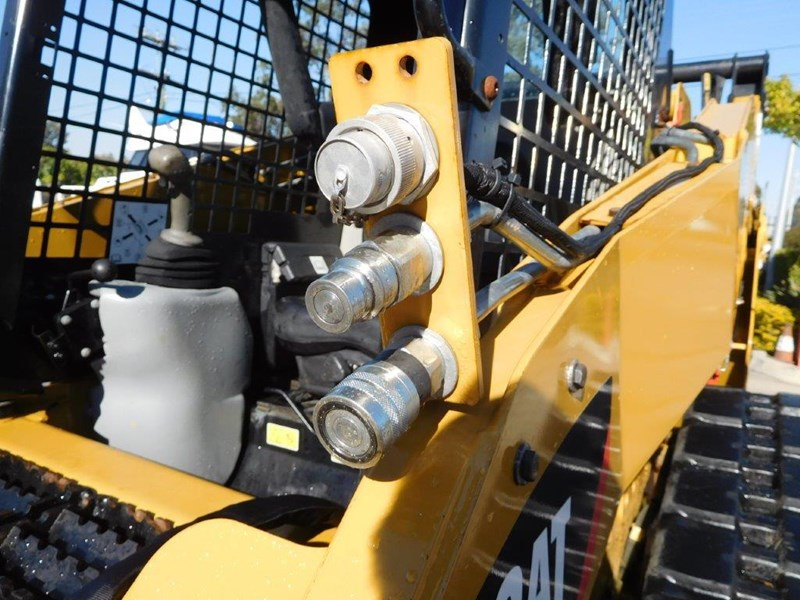 caterpillar #2235b 259.b3 cat 259b.3 compact track loader [74 hp] [only 295 hours] [machcat] 414016 012