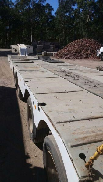 lusty quad axle deck widner low loader 414525 005