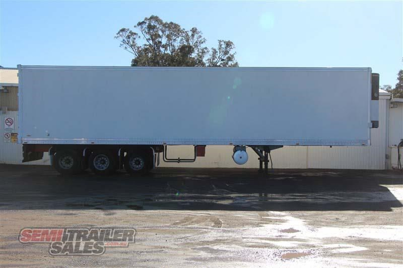 maxitrans 45ft refrigerated pantech semi trailer 414441 001