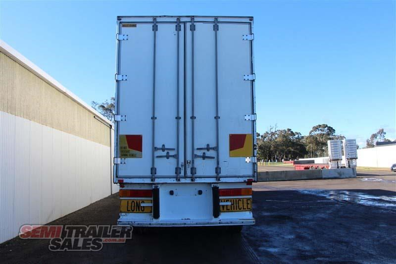 maxitrans 45ft refrigerated pantech semi trailer 414441 005