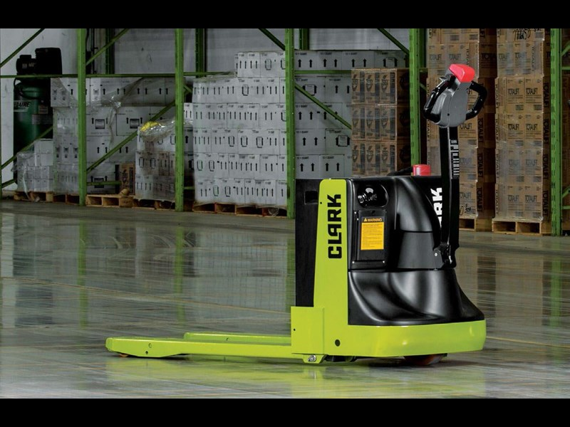 clark wpx45 electric powered pallet truck 414433 005