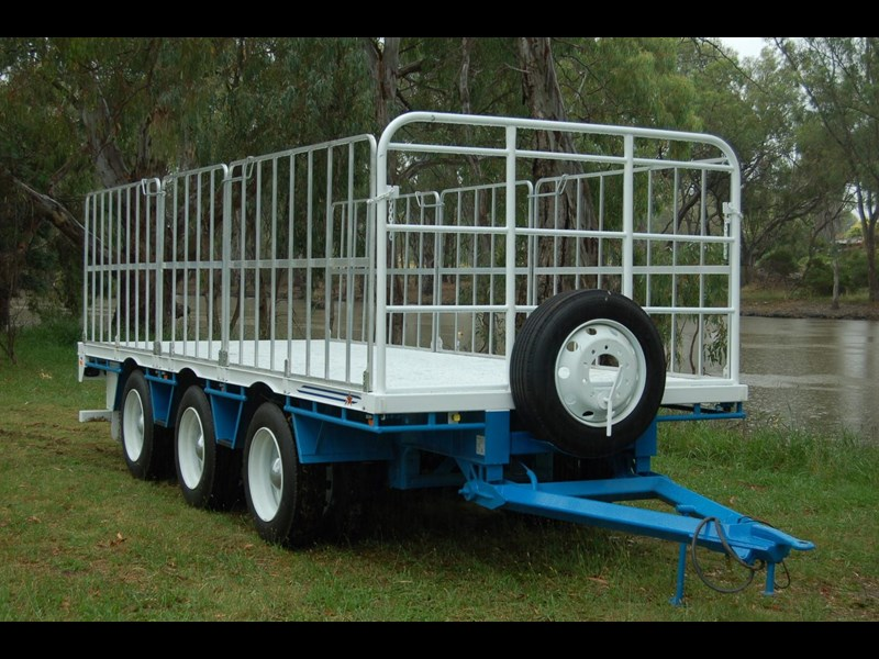 northstar transport equipment tri axle pig trailer 414992 001