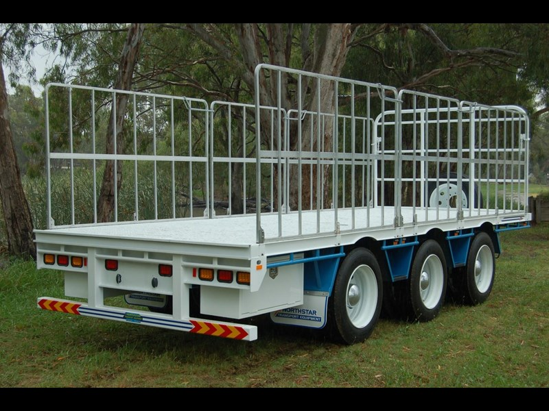 northstar transport equipment tri axle pig trailer 414992 011