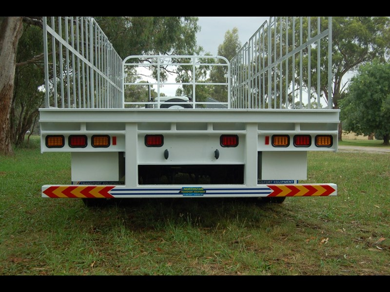 northstar transport equipment tri axle pig trailer 414992 013