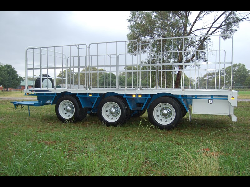 northstar transport equipment tri axle pig trailer 414992 015