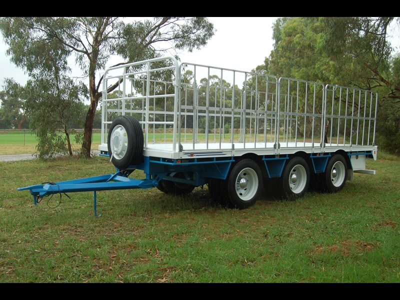 northstar transport equipment tri axle pig trailer 414992 017