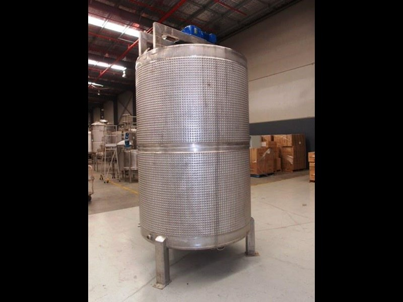 stainless steel jacketed mixing tank 5,000lt 415053 003