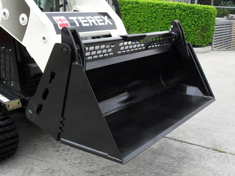 rhino 4 in 1 bucket - buckets to suit skid steer loaders [1585 mm] [attbuck] 415118 005