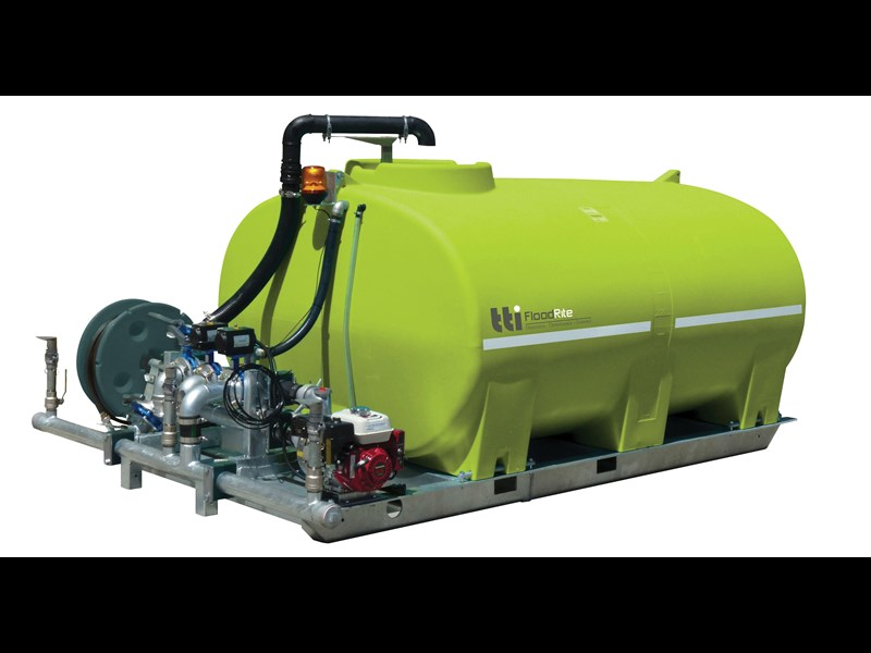 "transtank floodrite 8000l slip-on with yanmar 3"" diesel 416001 001"