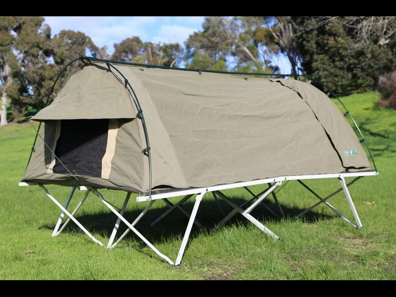 kylin campers homestead twin swag with stretcher 416273 009