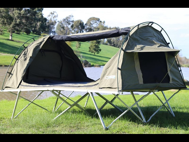 kylin campers homestead twin swag with stretcher 416273 015