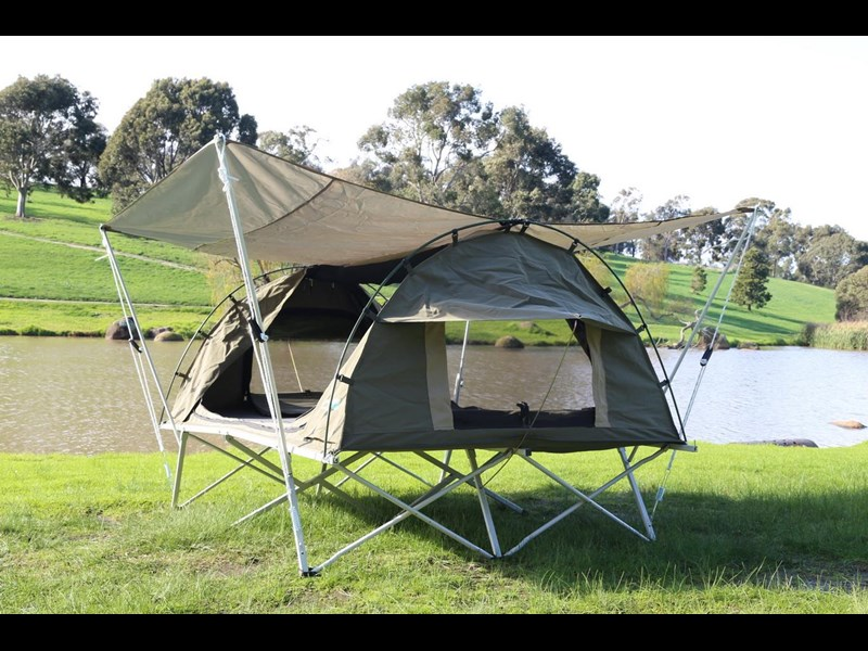 kylin campers homestead twin swag with stretcher 416273 021