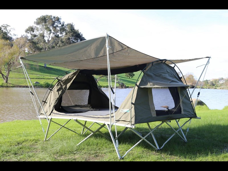 kylin campers homestead twin swag with stretcher 416273 023