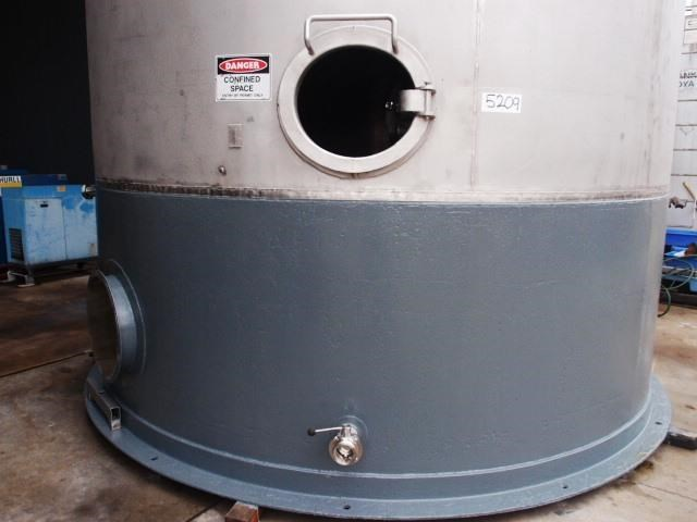 stainless steel jacketed tank 70,000lt 416797 005