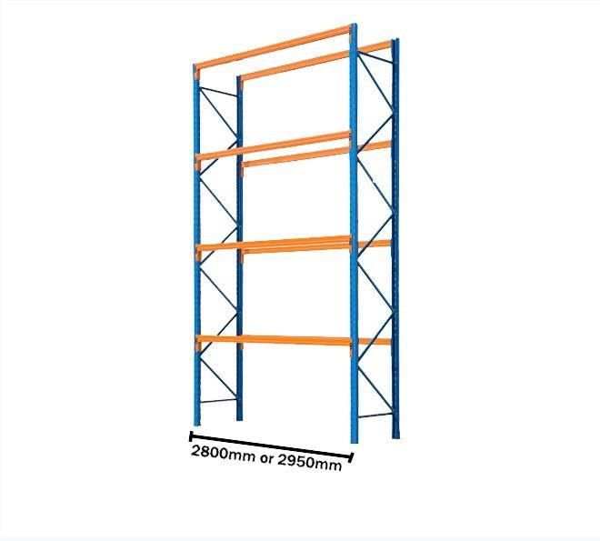 various brands used pallet racking - 10 pallet storage 418677 001