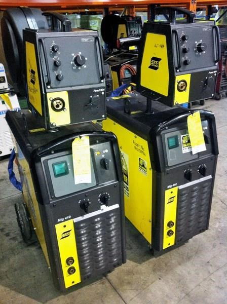 multi process mig tig mma hire esab, lincoln & cigweld. very competitive rates. 418956 001